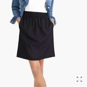 Wool-Blend Sidewalk Skirt